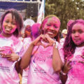 Different colors one people Kenya color run 2018 edition